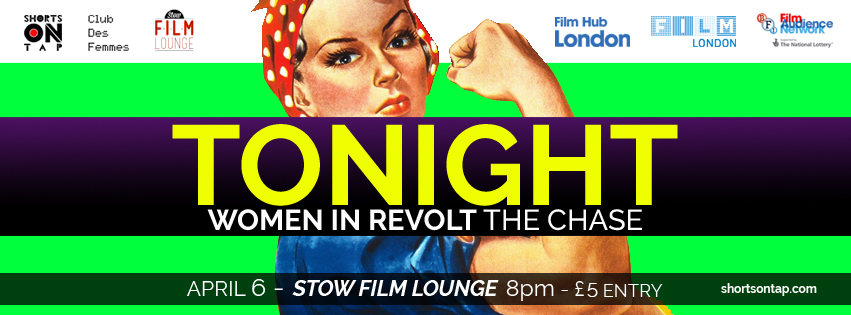WOMEN IN REVOLT 6 APRIL TONIGHT BANNER