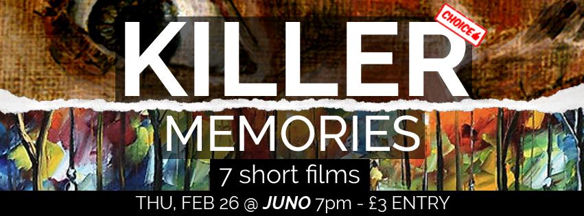 KILLER MEMORIES banner