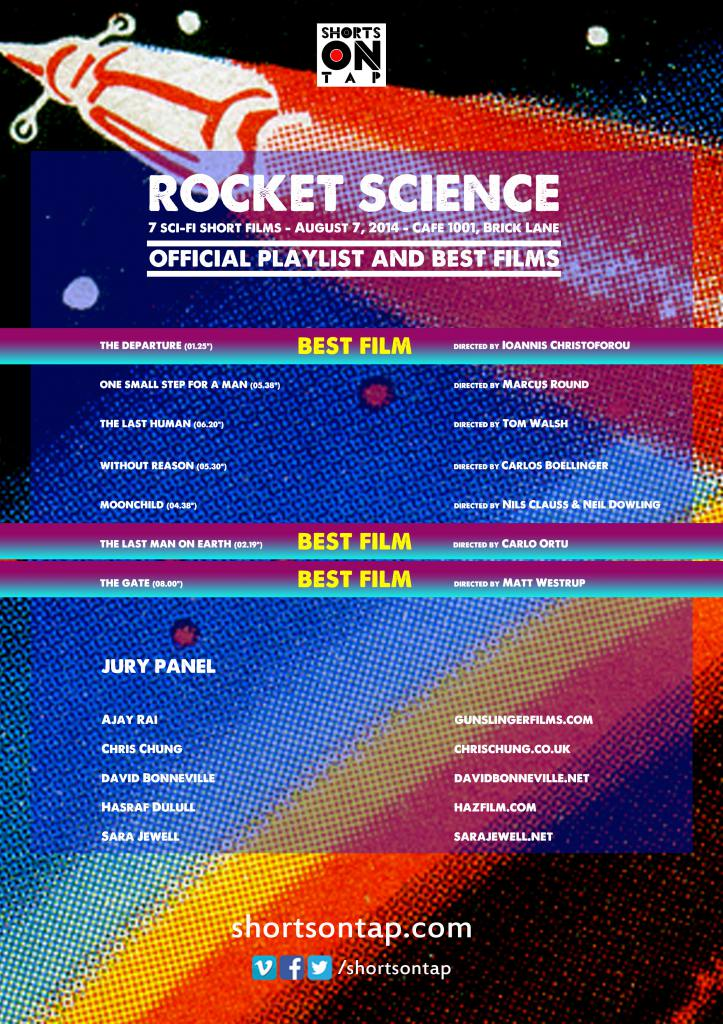 ROCKET SCIENCE  OFFICIAL PLAYLIST AND BEST FILMS