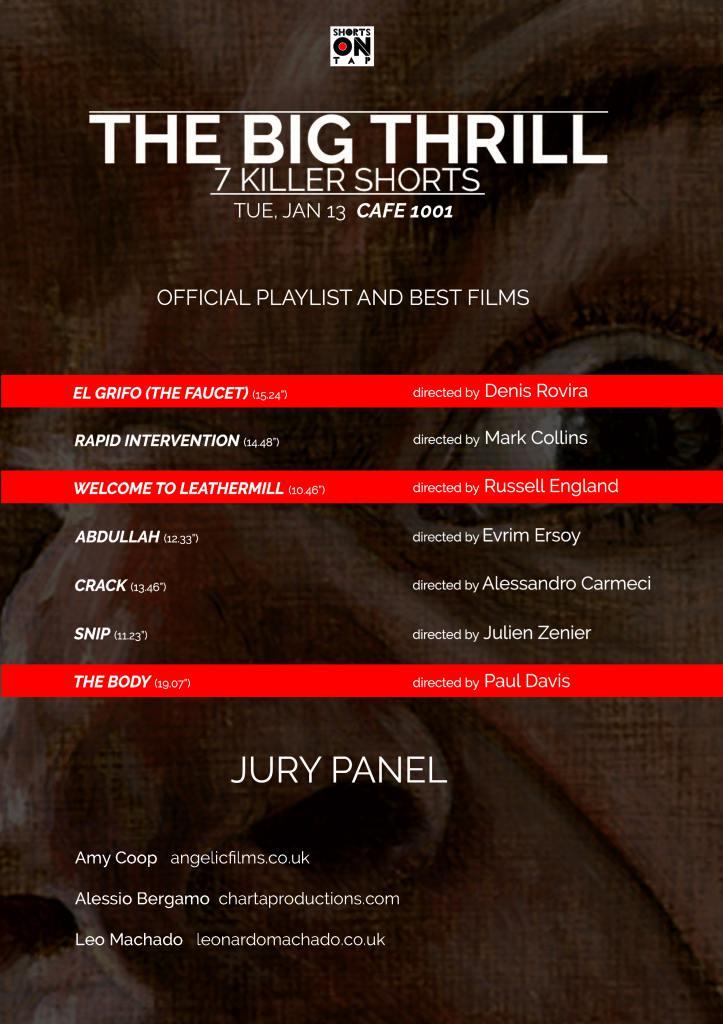 THE BIG THRILL programme