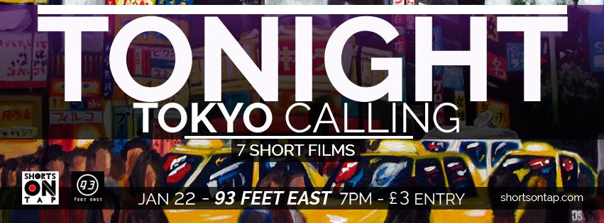 TOKYO CALLING TONIGHT BANNER